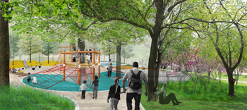 Ramsden Park – Phase 1 Underway