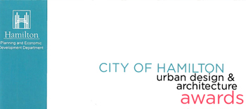 Two Hamilton Urban Design and Architecture Awards for PMA